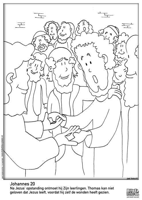 jongeren pkn beekbergen en lieren bijbel kleurplaten