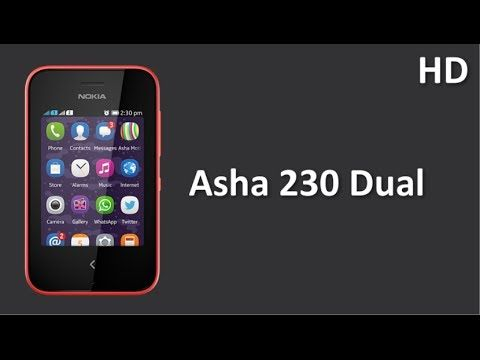 Asha 230 Dual listed online  with 2.8 inch Display and 1020 mAh Battery, Facebook, WhatsApp, LINE