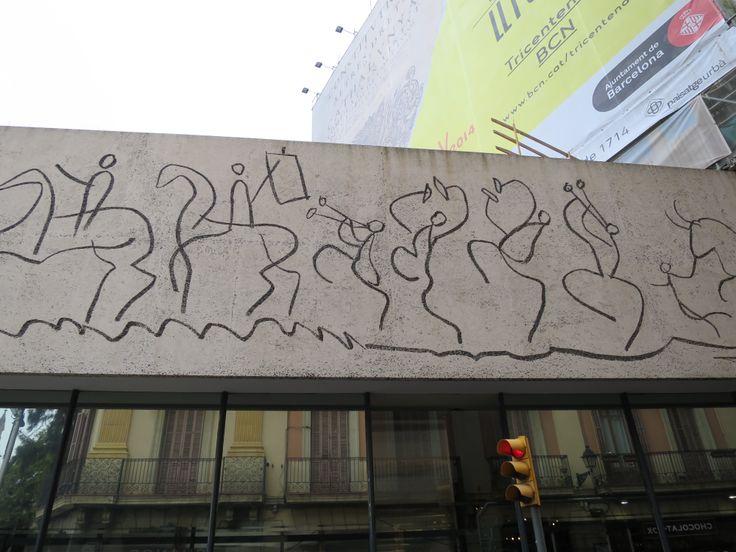 ピカソの壁画 その1