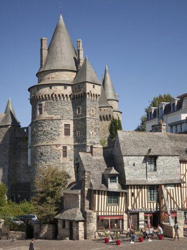 Vitré Castle, Vitré, Ile et Vilaine. Brittany