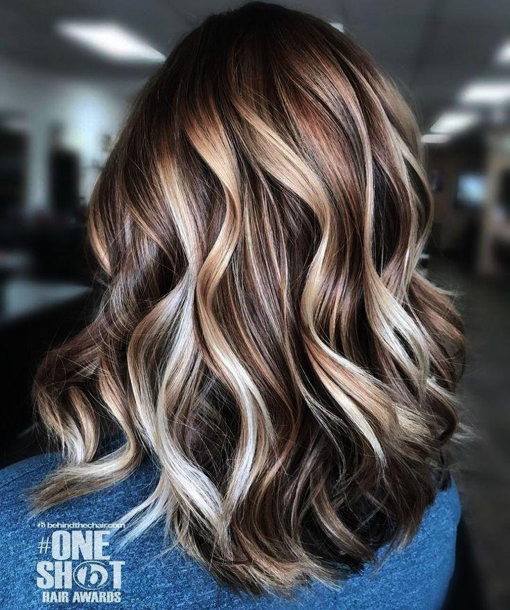Hairspray Release Date Half Haircut Near Me Latino And Haircut Near Me Sale Thos Brunette Hair Color Brown Blonde Hair Brown Hair With Blonde Highlights