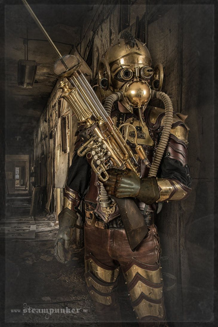 Steampunk Armor by steamworker.deviantart.com on @DeviantArt