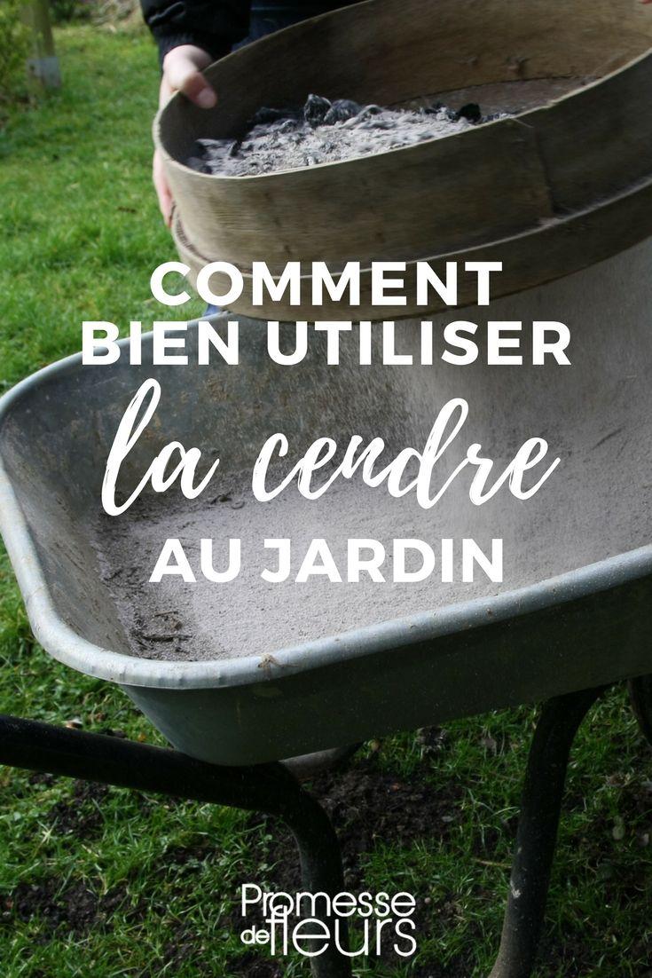 Cendre de bois : remark l'utiliser au jardin ?