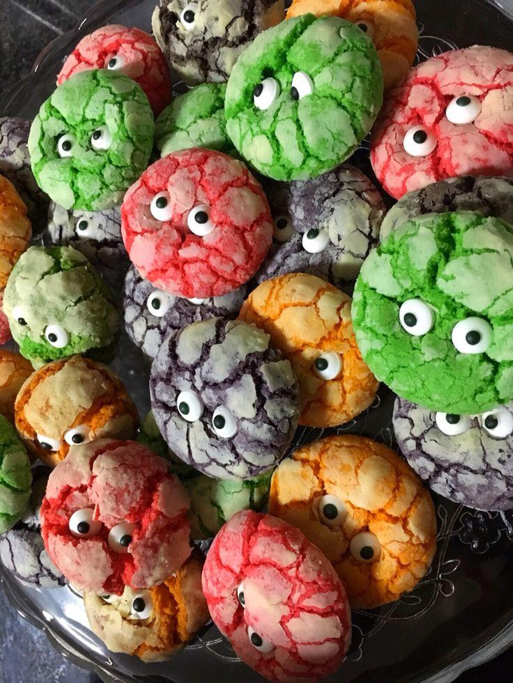 Galletas monstruos! #halloween