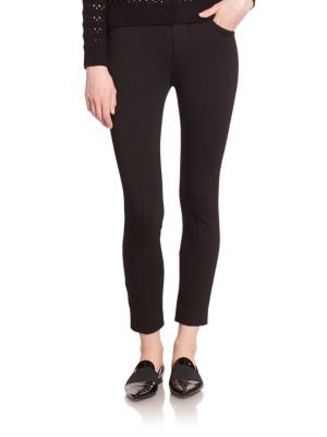 J BRAND 829 Liana Cropped Double-Knit Trousers. #jbrand #cloth #trousers
