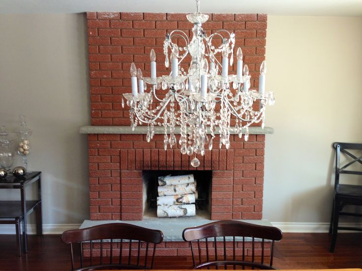 how to clean a brick fireplace with scrubbing bubbles
