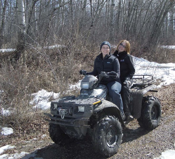 Quadding in the Spring at Lucien Lake #lucienlake #quadding #atvfun #springatthelake #lakesidelots #lakesideproperty