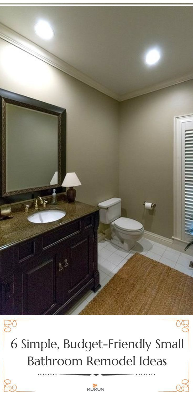 Bathroom Budget Ideas Remodel Small A Bathroom Makeovers On A