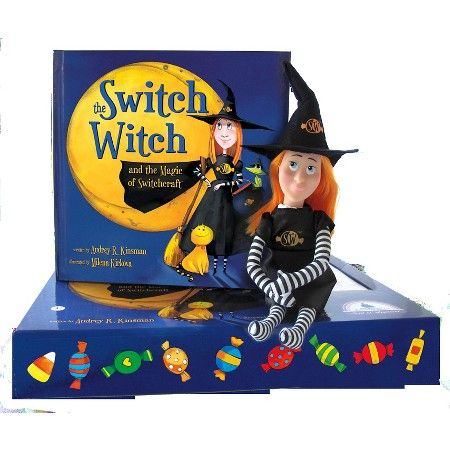 The Switch Witch and the Magic of Switchcraft (Book and Doll)