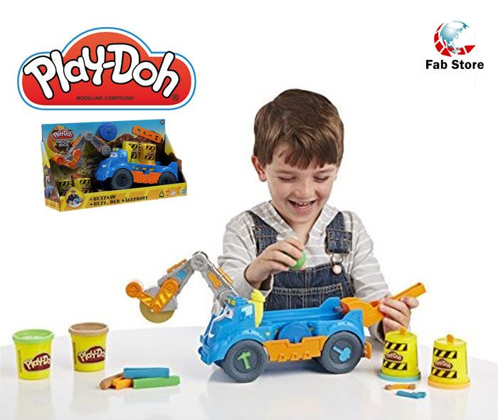 You've got a big, dirty job ahead of you, but those are the best kind with the Diggin' Rigs Buzzsaw playset! Play-Doh toys are best activity toys for your kids. Visit Fab Store Electronics & Gadgets outlet in spinneys, The Pearl- Madinat Centrale to explore our Play-Doh collection.