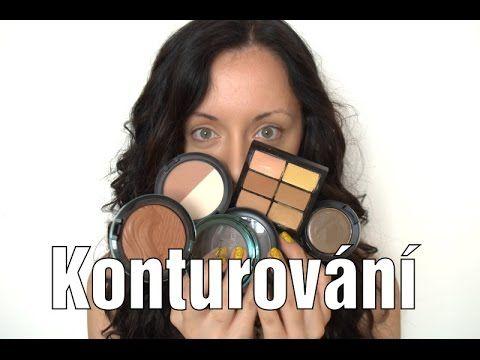 Konturování obličeje - KROK ZA KROKEM - Čím konturovat?