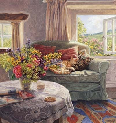 images of stephen darbishire art   Summer Paintings by Stephen Darbishire, contemporary British artists ...
