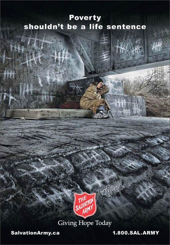 » The Salvation Army advertising/design goodness – advertising and design blog: The best ads & designs and sometimes the worst around the globe.