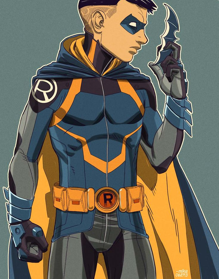 I despise the Damian Wayne character, but this is a nice ...