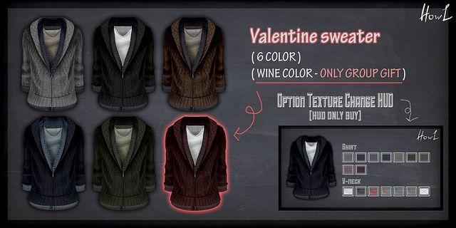 {Howl} Valentine sweater - Valentine's Day sale & Group Gift | Flickr - Photo Sharing!