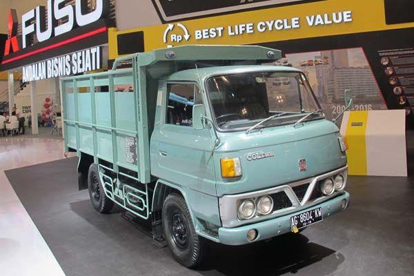 PT Krama Yudha Tiga Berlian Motors hadirkan salah satu truk klasik angkatan mula-mula yg jadi cikal dapat keberhasilan Mitsubishi Fuso, merupakan varian Mitsubishi Colt T200