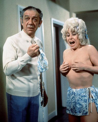 Sid James and Barbara Windsor, Carry On Abroad.