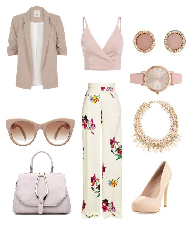 """Untitled #1105"" by the-cute-psycho21 on Polyvore featuring Etro, River Island, Charles David, Vivani and Michael Kors"