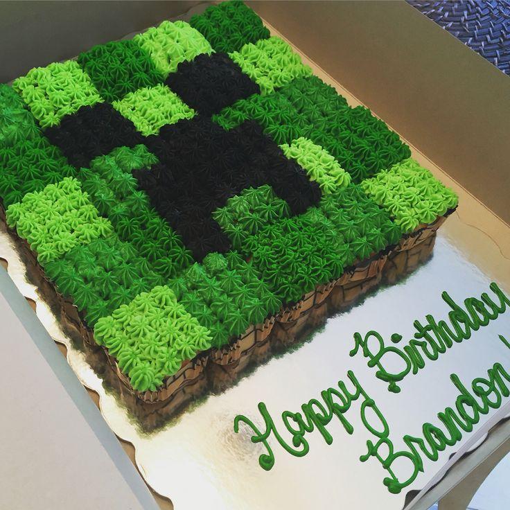 Minecraft cupcake pull apart
