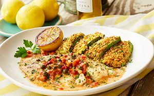 Olive Garden Tilapia Piccata 450 Calories and 12 Weight Watcher's Smart Points