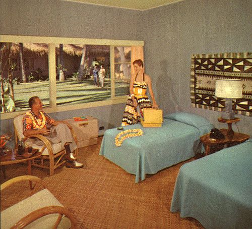 Vintage Hotels Ads Mid Century Modern Furniture San
