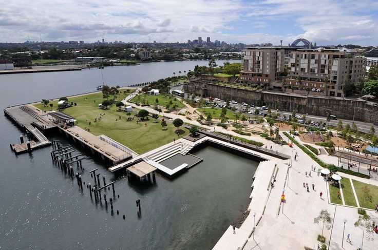 Aspect studios sydney australia pirrama park great for Aspect landscape architects
