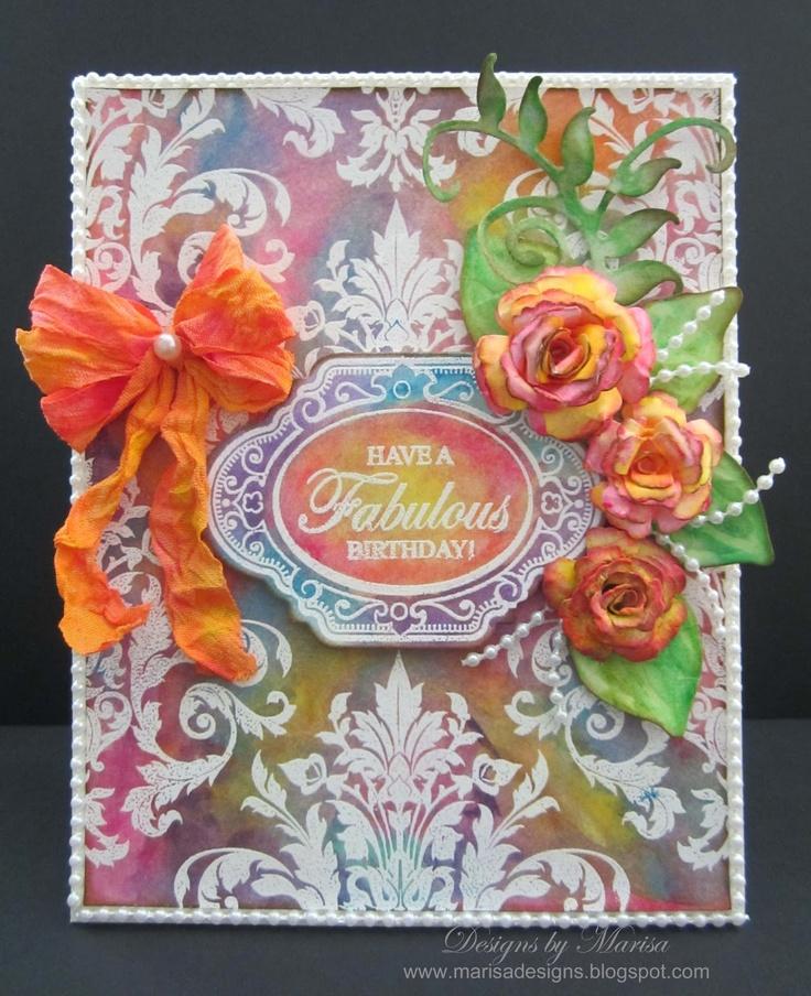 card designed by Marisa Job using Gelatos