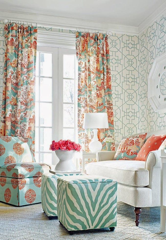 Best 25 burnt orange curtains ideas on pinterest burnt - Turquoise curtains for living room ...