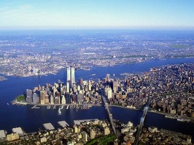 World Trade Center in Lower Manhattan...