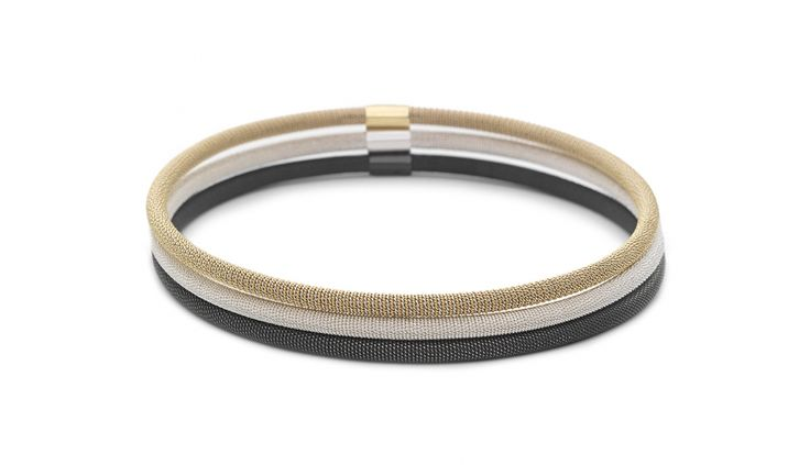 Liliana Guerreiro   Collections - Beautiful combination of silver and gold handmade bracelets