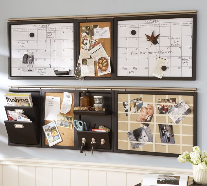 Home Office Wall Organization Office Wall Organizer System