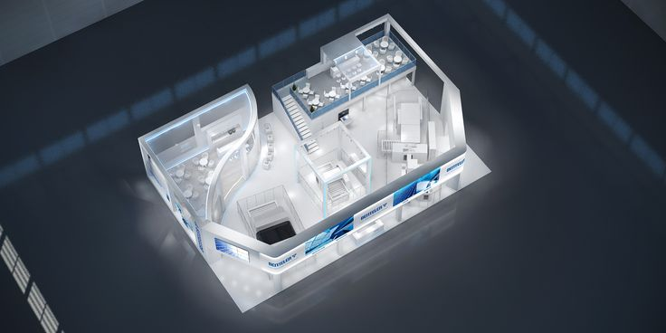 Benteler Maschinenbau GmbH Konzeptentwurf zur Glasstec, Düsseldorf 482m²