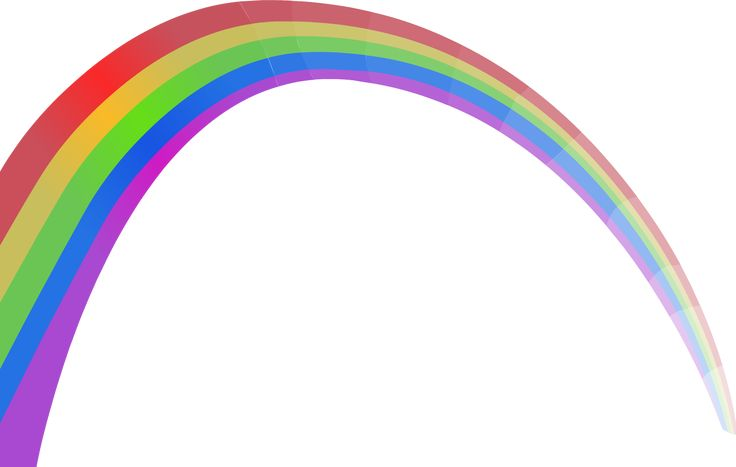 Rainbow PNG Clipart | PNG Mart