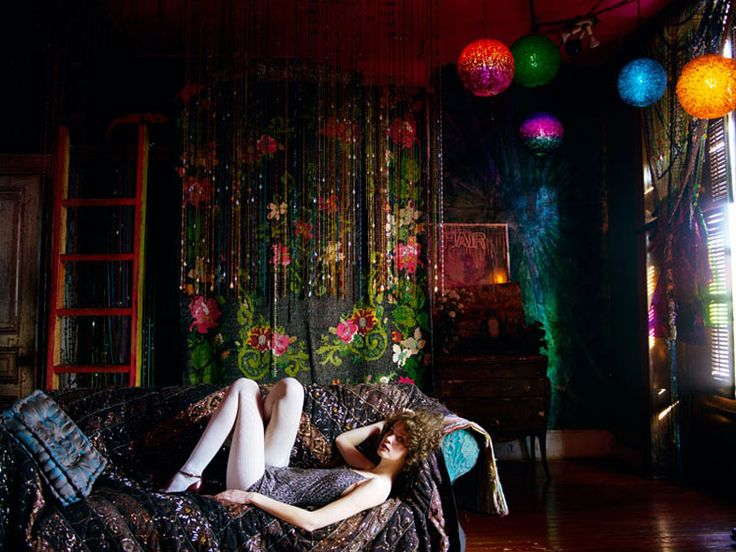 Psychedelic Lounge Home Fashion Room Home Decor