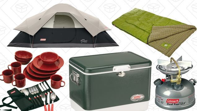 Get Out of Town With Amazons One-Day Camping Gear Sale