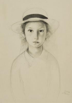 Paulien Citroen - potlood op papier - Paul Citroen 1939
