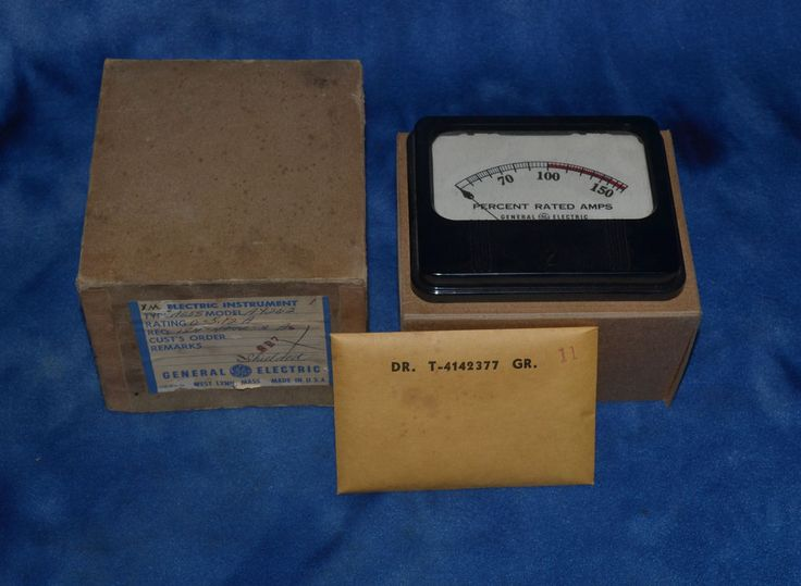 Vintage General Electric Type AO-58 Model RARE #GeneralElectric