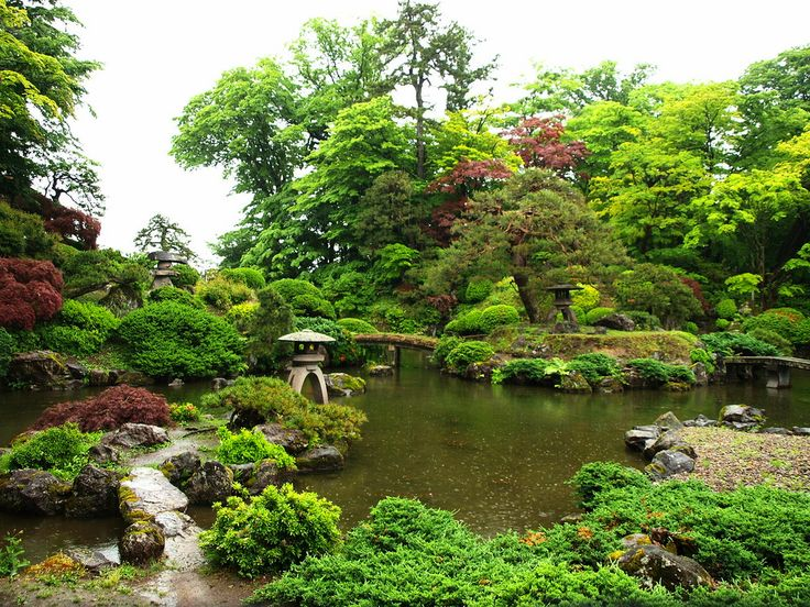 https://flic.kr/p/8aKYEp | Japanese Garden Rainyday ~雨の庭園~ | Japanese style Garden SEIBI EN Onoe town。 枯山水池泉回遊式庭園、盛美園。尾上町。  今天是下雨. 所以生動的新綠.日本式庭園.