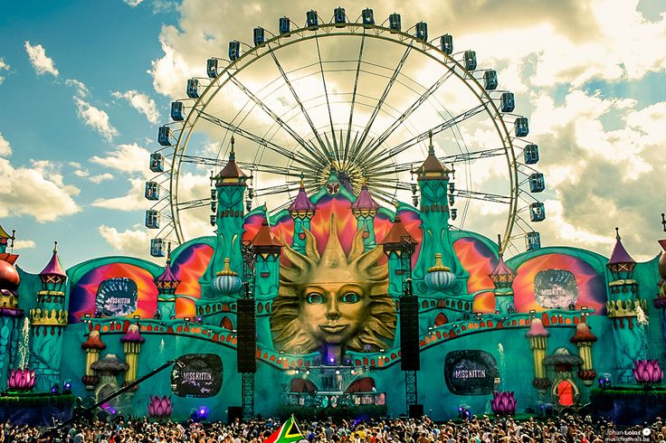 Tomorrowland 2014... Website clogged, so didn't get through to get tickets this year, will be there next year!