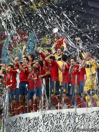 Euro Cup 2012 champions