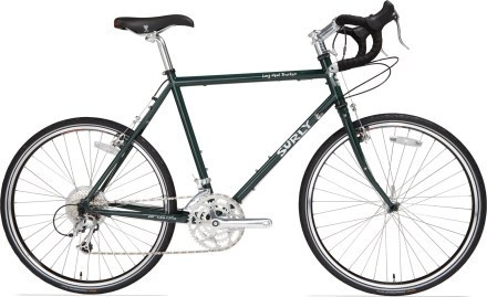 The Surly Long Haul Trucker is great for touring, where long, scenic days in the saddle are commonplace. It can also do double duty as a solid commuter or errand-runner around town.