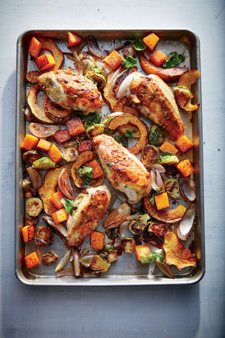 We combine America's favorite dinner bird with our favorite way to cook: everything together in one pan for less fuss, easy cleanup, and ...