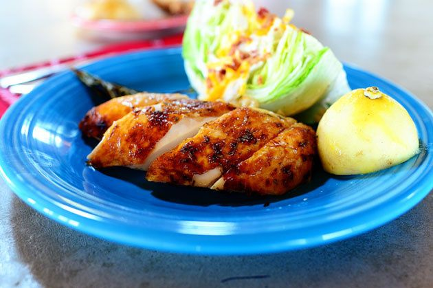 Lemon Rosemary roasted chicken. Pioneer woman.