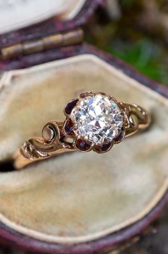 Circa 1900s Victorian Engagement Ring Victorian Engagement Rings Antique Wedding Rings Vintage Engagement Rings Art Deco