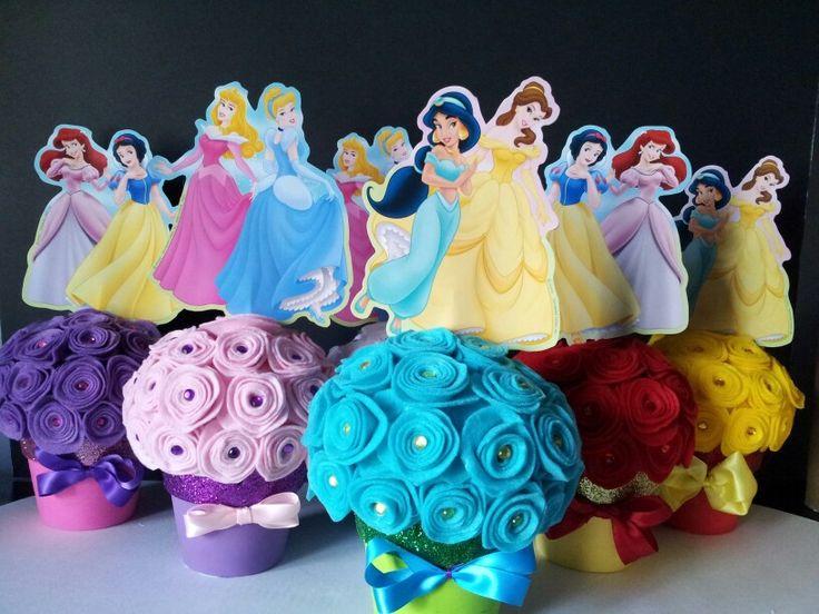 Princess centerpieces.
