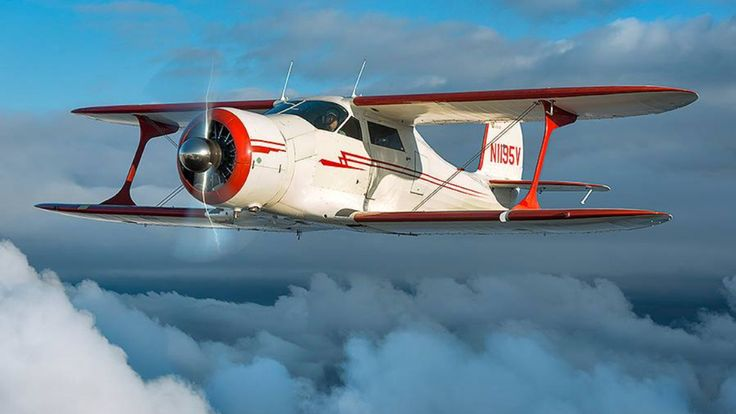 Staggerwing - what a beautiful airplane - would love to fly one