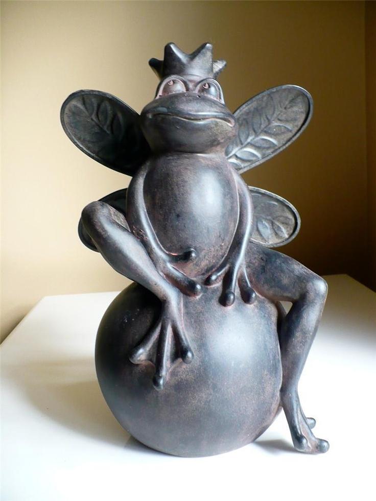 771 Best Frog Garden Statues Images On Pinterest Frogs