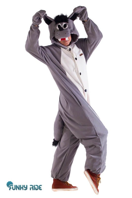 Funky Ride: кигуруми волк | костюм волка | костюм волка купить | костюм волка взрослый | костюм волка детский