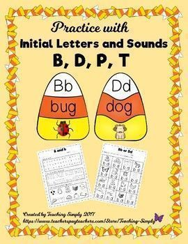 Do your students have difficulty with writing b and d correctly or getting the sounds of b and p, or d and t confused? I see this frequently with struggling readers and dyslexic students. This resource is designed to give the students plenty of practice with the letters and sounds to ease the confusion! Just laminate the puzzles and cut them apart for a center or small group work, then use the follow-up worksheets for additional practice