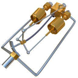 Изображение 3D модели 'Паровой двигатель Грина'